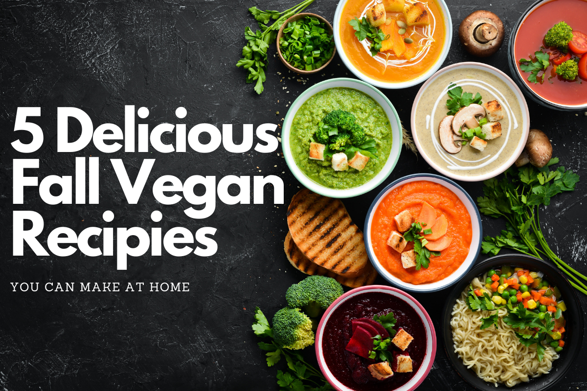5 Fall Recipes – All Vegan and All Good!