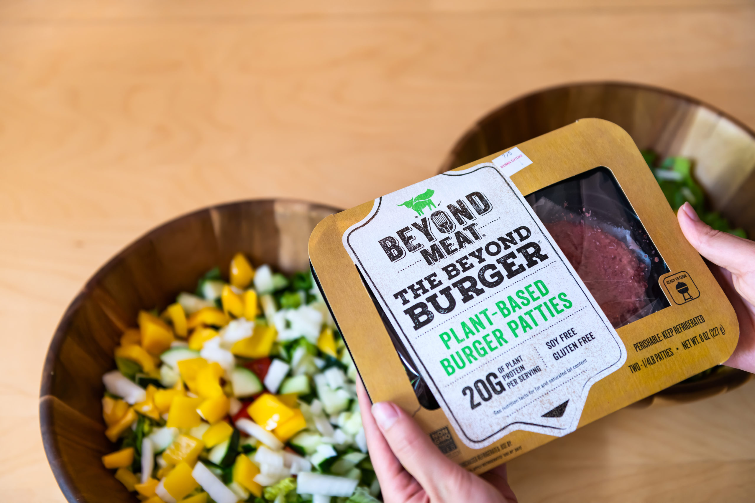 Are beyond burgers and impossible burgers good for you?