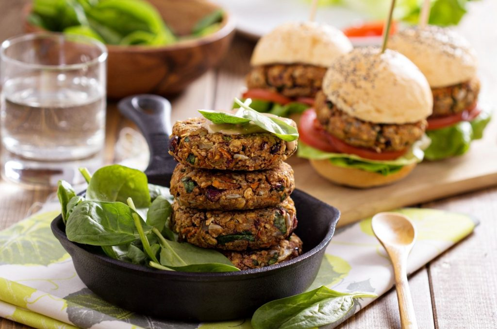 Vegan Burgers - Discover Five Vegan Recipes to Fuel Your Day